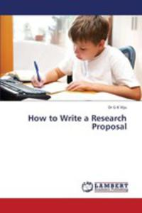 How To Write A Research Proposal - 2857124014