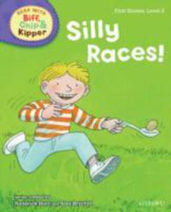 Oxford Reading Tree Read With Biff, Chip, And Kipper: First Stories: Level 2: Silly Races! - 2839861872