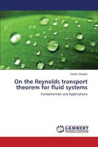 On The Reynolds Transport Theorem For Fluid Systems - 2857256382
