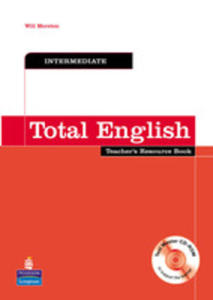 Total English Intermediate - Teacher's Book Plus Test Master Cd-rom [Ksi��ka Nauczyciela Plus Test Master Cd-rom] - 2839266111