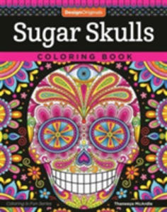 Sugar Skulls Coloring Book - 2843976911