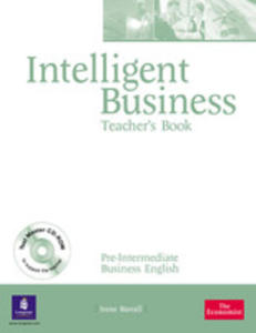 Intelligent Business Pre-intermediate - Teacher's Book Plus Test Master Cd-rom [Ksi��ka Nauczyciela Plus Test Master Cd-rom] - 2839265894