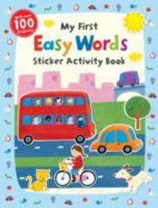 My First Easy Words Sticker Activity Book - 2856604196