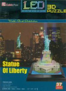 Puzzle 3d Led Statua Wolności - 2846733341