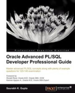 Oracle Advanced Pl/sql Developer Professional Guide - 2852918899