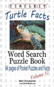 Circle It, Turtle Facts, Word Search, Puzzle Book - 2853956475