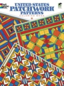 United States Patchwork Patterns Coloring Book - 2857047484