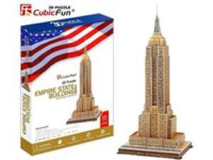 Puzzle 3d Empire State Building 55 Elementów - 2848188604