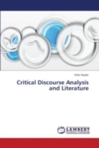 Critical Discourse Analysis And Literature - 2857086597