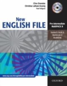 New English File pre - Intermediate multipack B - 2849902530