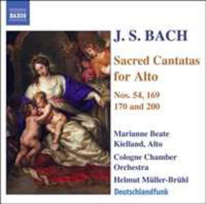 Sacred Cantatas For Alto - 2839196095