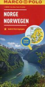 Norwegia Mapa Drogowa Marco Polo 1:800 000 - 2840389281