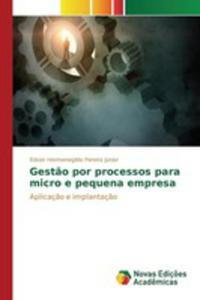 Gest~ao Por Processos Para Micro E Pequena Empresa - 2857261068
