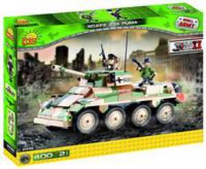 Small Army Puma Sd.kfz. 234/2 Samochód Pancerny - 2843984081