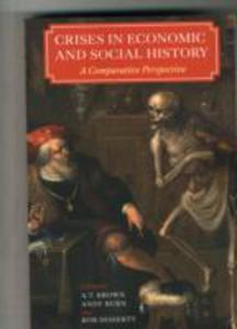 Crises In Economic And Social History - 2860403051