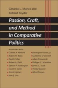 Passion, Craft, And Method In Comparative Politics - 2845344067