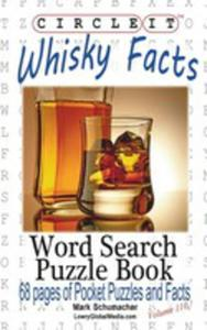 Circle It, Whisky Facts (Whiskey), Word Search, Puzzle Book - 2853978766