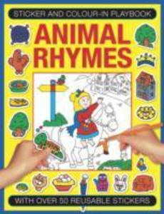 Sticker And Colour - In Playbook: Animal Rhymes - 2840140769
