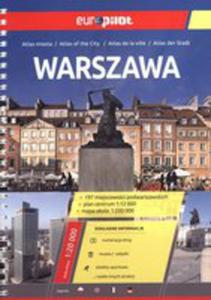 Warszawa. Europilot. Atlas Miasta W 1:20 000 - 2839184993