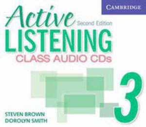 Active Listening 2nd Edition: : L 3 Class Audio Cds (3) - 2839762262