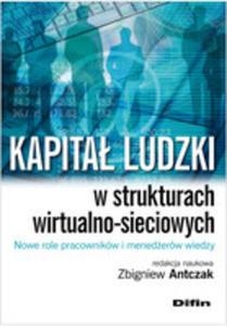 Kapitał Ludzki W Strukturach Wirtualno-sieciowych Nowe Role Pracowników I Menedżerów...
