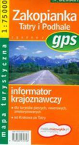 Zakopianka Tatry I Podhale Mapa Turystyczna - 2856567778