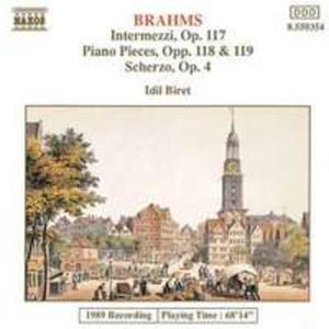 Piano Pieces Op 117 - 119 / Scherzo Op 7 - 2853934672