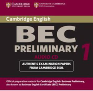 Cambridge Bec 1 Preliminary: : Audio Cd - 2839762307