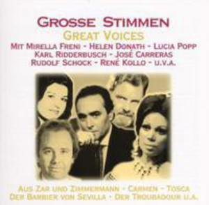 Grosse Stimmen - 2839431509