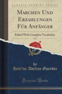 Marchen Und Erzahlungen Für Anfänger, Vol. 2 - 2852979888