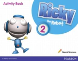 Ricky The Robot 2 Activity Book - 2840025244