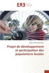 Projet De Développement Et Participation Des Populations Locales - 2857262422