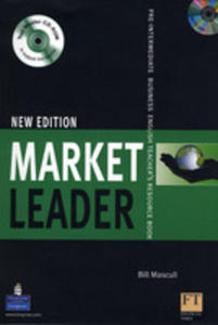 Market Leader Pre-intermediate New Edition - Teacher's Book Plus Test Master Cd-rom Plus Dvd [Ksi��ka Nauczyciela Plus Test Master Cd-rom Plus Dvd] - 2839265919