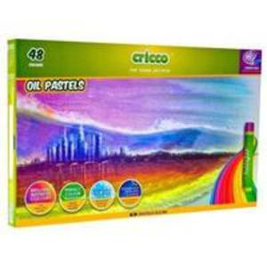 Pastele Olejne 48 Kolorów Cricco - 2856368881