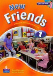 New Friends 1 - Students' Book Plus Cd Rom [Książka Ucznia Plus Cd-rom] - 2839265960