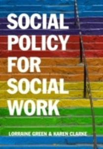 Social Policy For Social Work - 2842840676