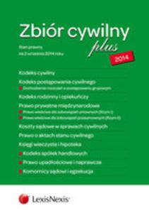 Zbiór Cywilny Plus 2014 K. C. , K. P. C. , K. R. O. , P. P. M. , K. S. C. , A. S. C. , K. W. H. , K. S. H. , P. U. N. - 2876789638