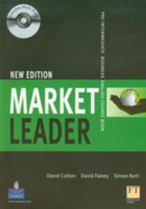 Market Leader Pre-intermediate New Edition - Coursebook Plus Self-study Cd-rom [Książka Ucznia Plus Cd-rom] - 2839265918