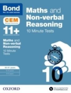 Bond 11+: Maths & Non-verbal Reasoning: Cem 10 Minute Tests - 2840412131