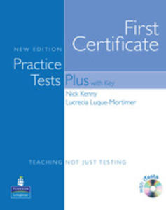 Practice Tests Plus Fce - Book (Key) Plus Itest Cd-rom Plus Audio Cd [Książka Ucznia Z Kluczem Plus Itests Cd-rom Plus Audio Cd] - 2851167367