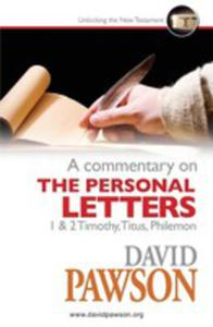 A Commentary On The Personal Letters - 2852920622