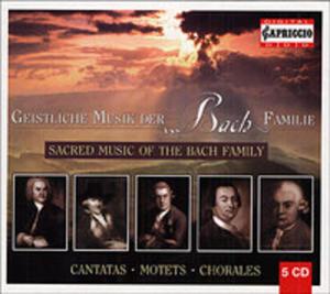 Geistliche Musik Der Bach - Familie - 2839243959