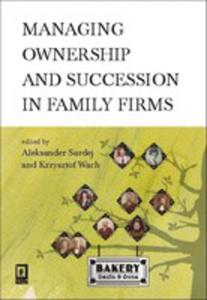 Managing Ownership And Succession In Family Firms - 2873042992