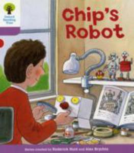 Oxford Reading Tree: Level 1 + : More First Sentences B: Chip's Robot - 2848176050