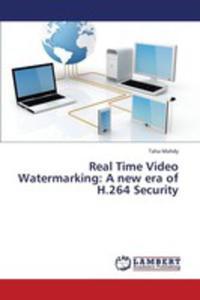 Real Time Video Watermarking - 2857125794
