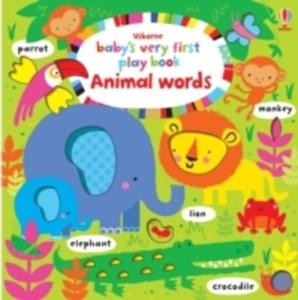 Baby's Very First Play Book Animal Words - 2848642126