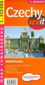 Czechy See It. Mapa Samochodowa W Skali 1:350 000 - 2870067597