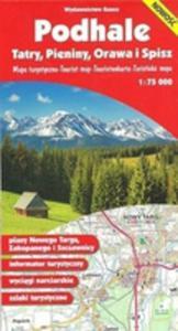 Podhale Tatry Pieniny Orawa I Spisz Mapa 1:75 000 - 2839822117