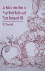 An Article About How To Prune Fruit Bushes And Trees Young And Old - 2854880304