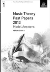 Music Theory Past Papers 2013 Model Answers, Abrsm Grade 1 - 2849506364